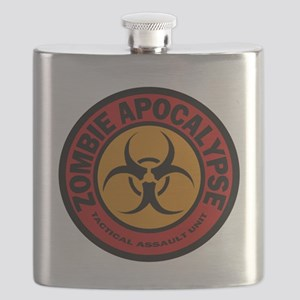 ZOMBIE APOCALYPSE Tactical Assault Unit Flask
