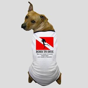 Born To Dive (Descent-Ascent) Dog T-Shirt