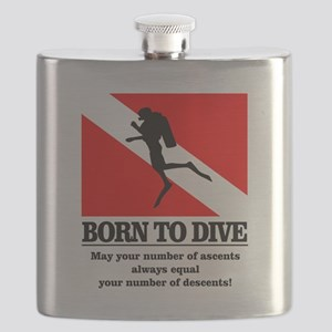 Born To Dive (Descent-Ascent) Flask