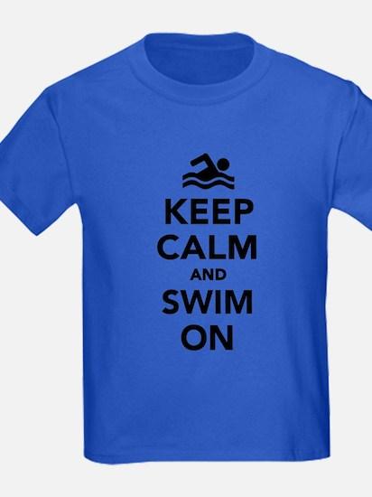 Keep calm and swim on T