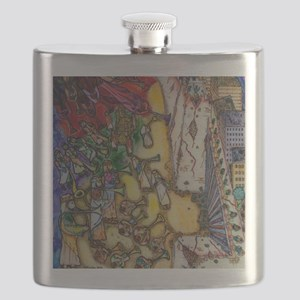 The trumpets of Jericho Flask