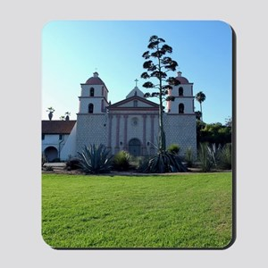 Santa Barbara Mission Mousepad