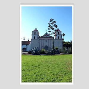 Santa Barbara Mission Postcards (Package of 8)