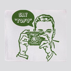 Say Tofu | Throw Blanket