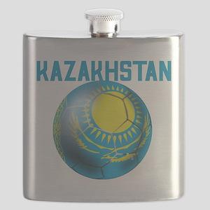 Kazakhstan Football Flask