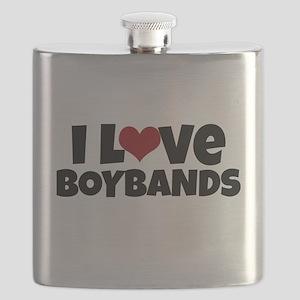 I Love Boybands Flask