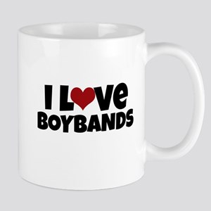 I Love Boybands Mugs