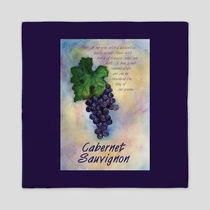 Cabernet Sauvignon Wine Queen Duvet
