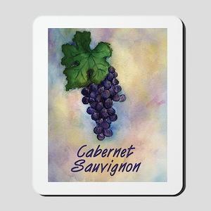 Cabernet Sauvignon Wine Art Mousepad