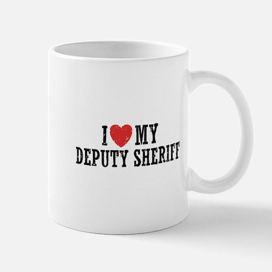 I Love My Deputy Sheriff Mug