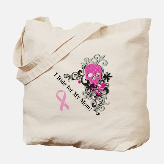 Bikers for Breast Cancer Tote Bag