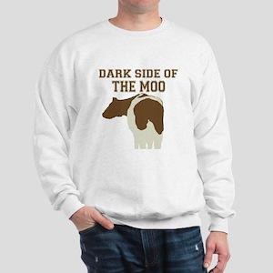Dark Side Of The Moo Sweatshirt