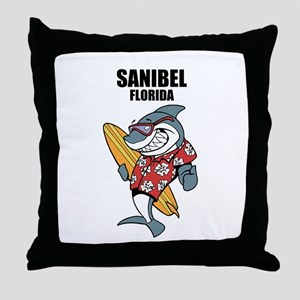Sanibel, Florida Throw Pillow