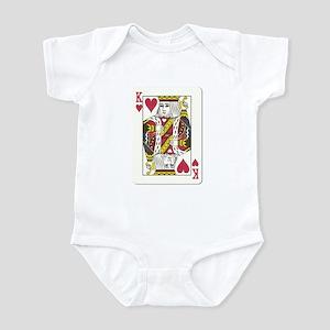 King of Hearts Infant Bodysuit