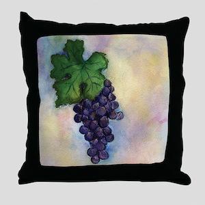 Cabernet Sauvignon Wine Throw Pillow