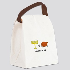 Hanukkah Canvas Lunch Bag