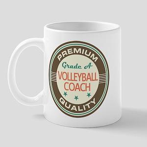 Volleyball Coach Vintage Mug