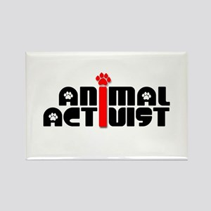 Animal Activist Rectangle Magnet