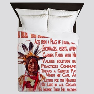 Warrior Spirit Queen Duvet