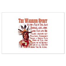 Warrior Spirit Large Poster