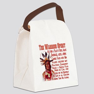 Warrior Spirit Canvas Lunch Bag