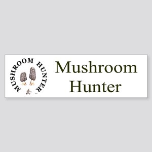 Mushroom Hunter Bumper Sticker