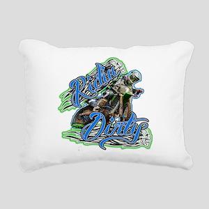 RidinDirty Rectangular Canvas Pillow
