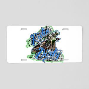 RidinDirty Aluminum License Plate