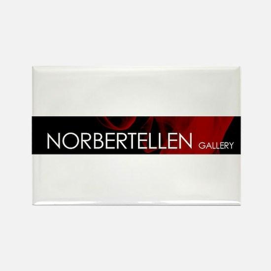 NORBERTELLEN GALLERY - RED LOGO Magnets
