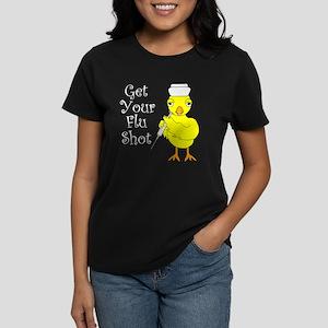 Nurse Flu Shot Chick T-Shirt