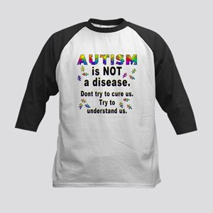 Autism is NOT a disease! Kids Baseball Jersey
