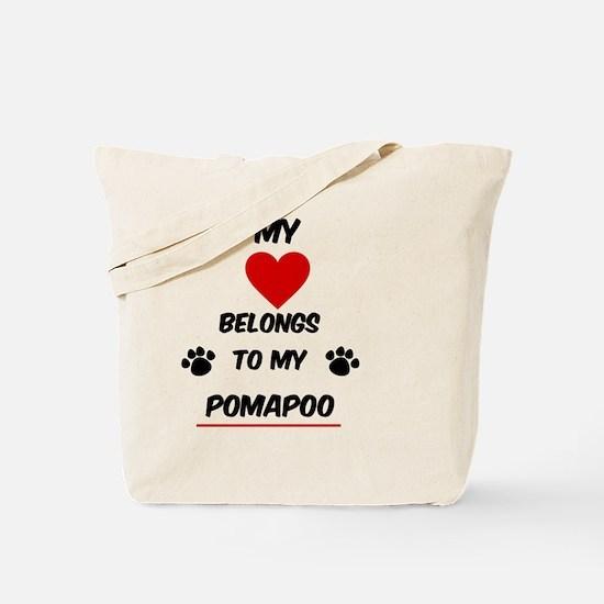 PomaPoo Tote Bag