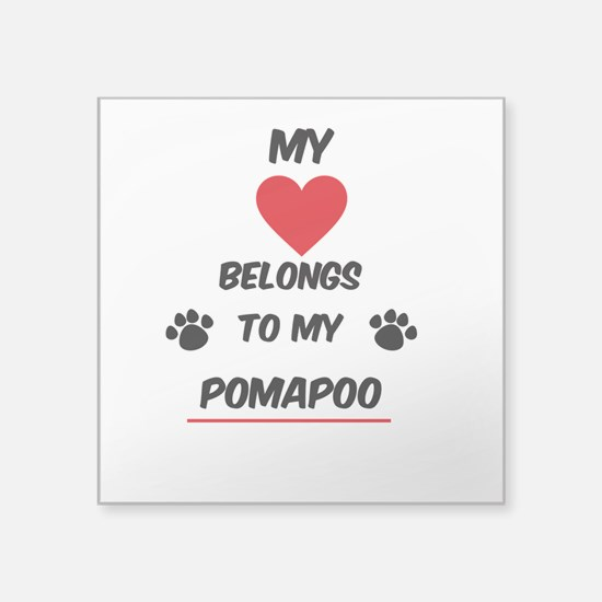 PomaPoo Sticker