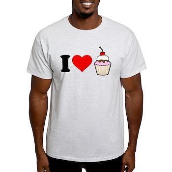 I Heart Cupcake Light T-Shirt