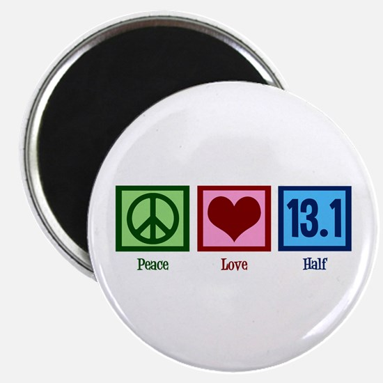 Peace Love 13.1 Magnet