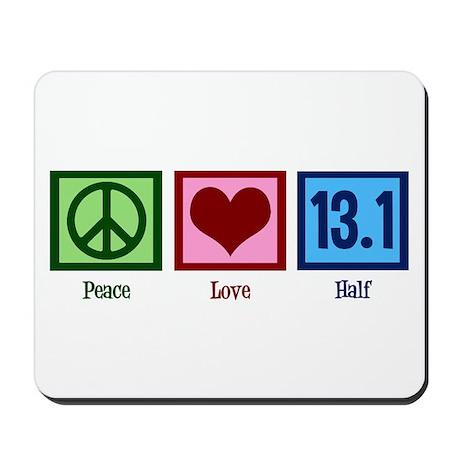 Peace Love 13.1 Mousepad