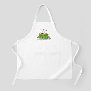 Froggy Love BBQ Apron