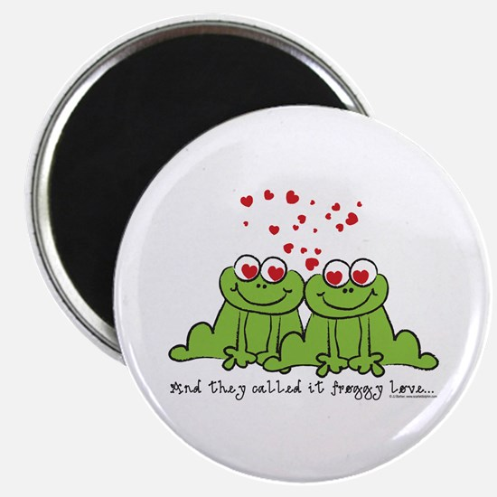Froggy Love Magnet