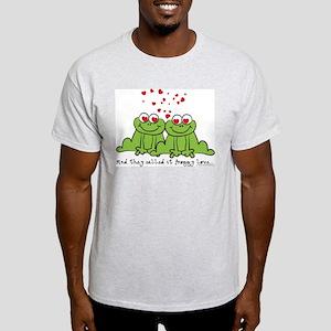 Froggy Love Ash Grey T-Shirt