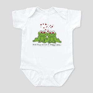 Froggy Love Infant Bodysuit