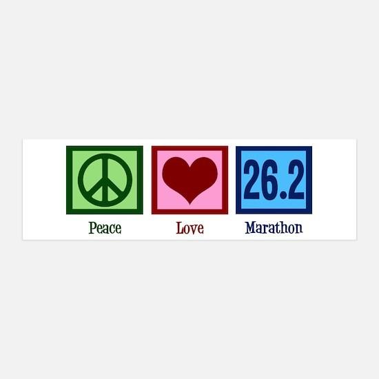 Peace Love 26.2 Wall Sticker
