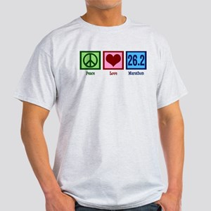 Peace Love 26.2 Light T-Shirt