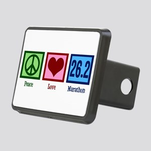 Peace Love 26.2 Rectangular Hitch Cover