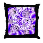 Violet Light Throw Pillow