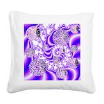 Violet Light Square Canvas Pillow
