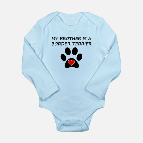 Border Terrier Brother Body Suit