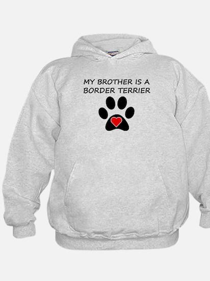 Border Terrier Brother Hoodie