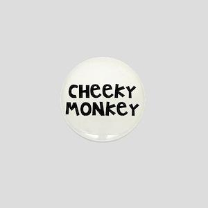 Cheeky Monkey Mini Button