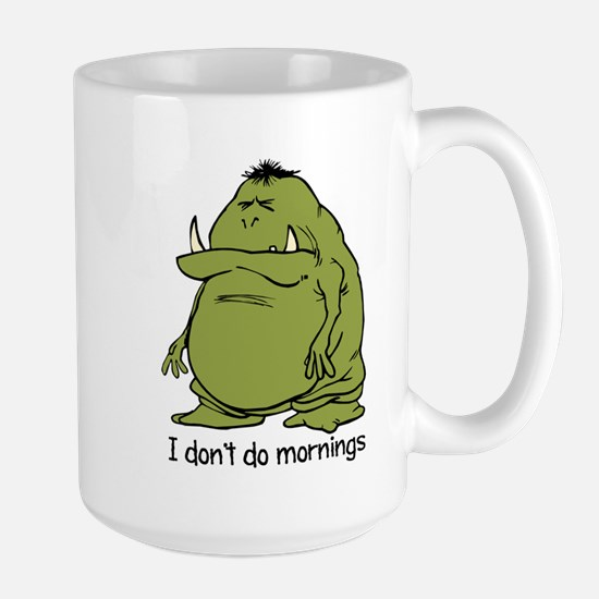 Morning Ogre Mugs