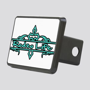 Rodeo Life-Turquoise Hitch Cover